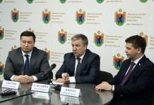 Глава Карелии Александр Худилайнен с представителями Агентства стратегических инициатив. Фото: gov.karelia.ru