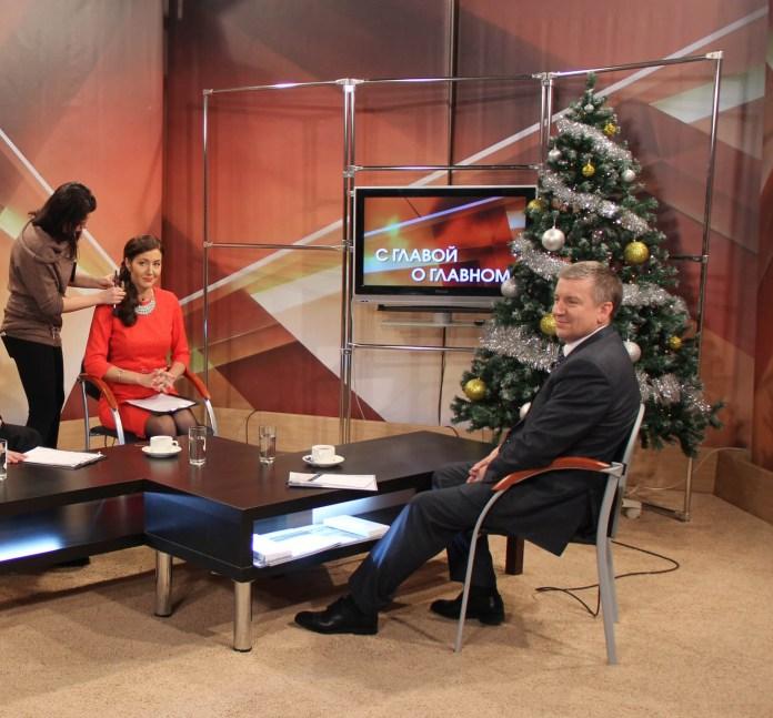 Пресс-секретарь главы Карелии Марина Кабатюк - в прошлом тележурналист. Фото: vk.com