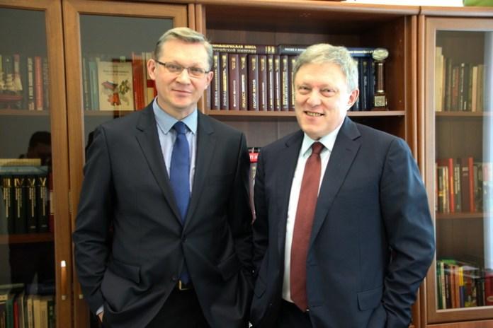 Владимир Рыжков и Григорий Явлинский. Фото: yabloko.ru