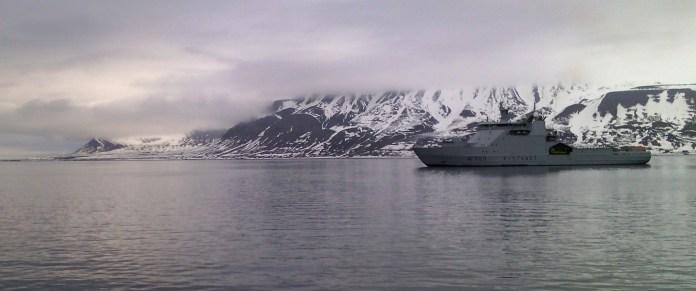 Корабль норвежской береговой охраны. Фото: Валерий Поташов