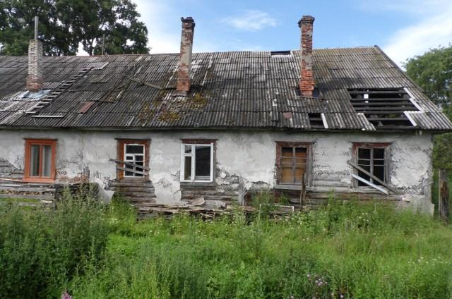Нехороший дом на улице Онежской в Медвежьегорске. Фото: Алексей Владимиров