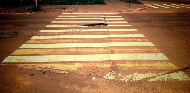 Пешеходный переход в самом центре карельской столицы. Фото: Валерий Поташов