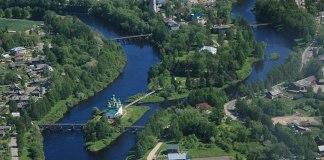 Город Олонец - административный центр Олонецкого национального района Карелии. Фото: vk.com