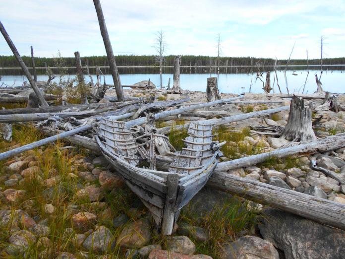 О былом судоходстве на Севере Карелии остались лишь воспоминания. Фото: Андрей Туоми