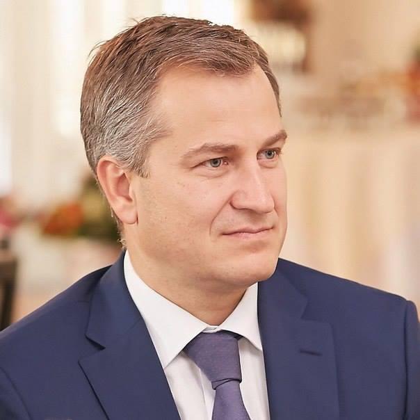 Новый премьер-министр Карелии Александр Чепик. Фото со страницы Александра Чепика в Facebook