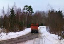 В Сортавальском районе Карелии идет незаконная добыча песка? Фото предоставлено Общественным лесным советом поселка Тиурула