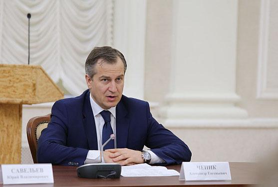 Новоиспеченный карельский премьер Чепик на совещании в республиканском правительстве. Фото: gov.karelia.ru