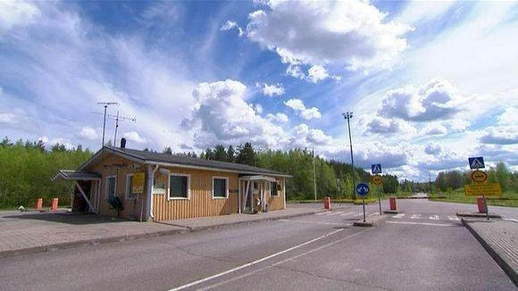 Пункт перехода границы в Париккала. Фото: yle.fi