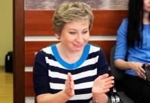 Вице-премьер Карелии Лариса Подсадник. Фото: Сергей Мятухин