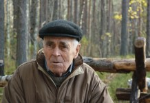 Житель деревни Суна Василий Дийков. Фото: Алексей Владимиров