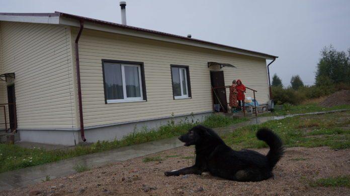 Новый дом в деревне Вокнаволок. Фото из личного архива семьи Куликовых