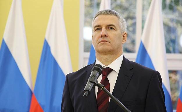 Глава Карелии Артур Парфенчиков на собственной инаугурации. Фото: gov.karelia.ru