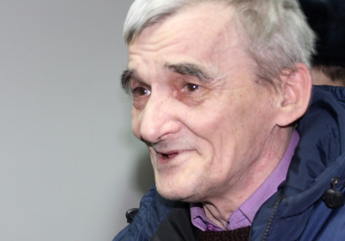 Исследователь сталинских репрессий Юрий Дмитриев находится под стражей более года. Фото: Валерий Поташов