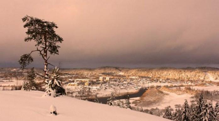 Зимний вид с горы Паасо. Фото: Анна Машигина