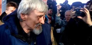 Юрий Дмитриев после заседания суда. Фото: Валерий Поташов