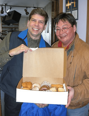 Dean Westlake with Mark Begich / Begich photo from flickr
