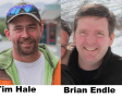 Photo of Tim Hale and Brian Endle