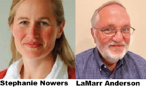 Photo of Stephanie Nowers and LaMarr Anderson