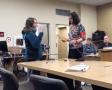 Photo of Storm Hansen-Cavasos being sworn in