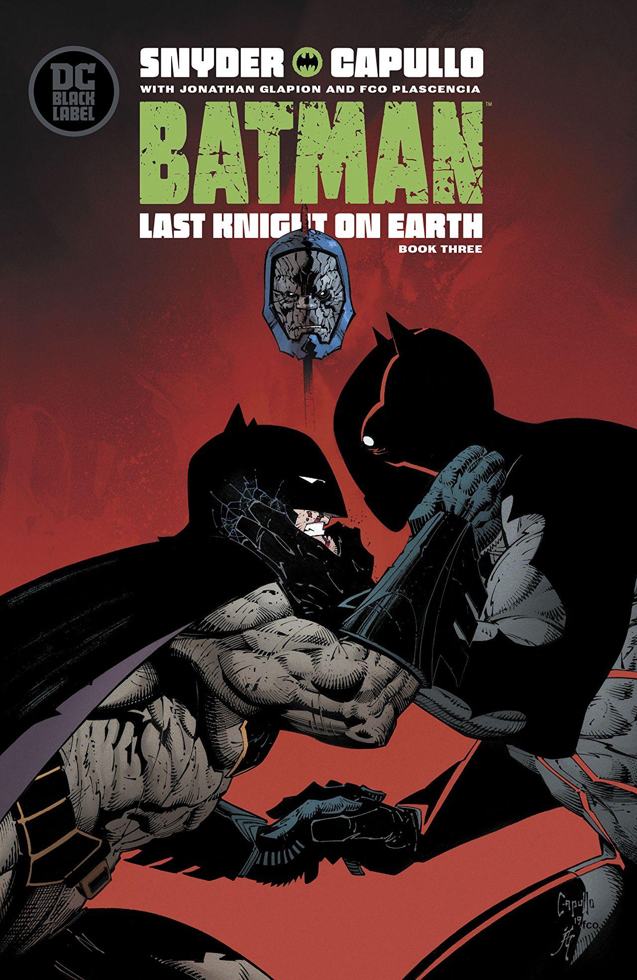 #9 Batman: Last Knight on Earth