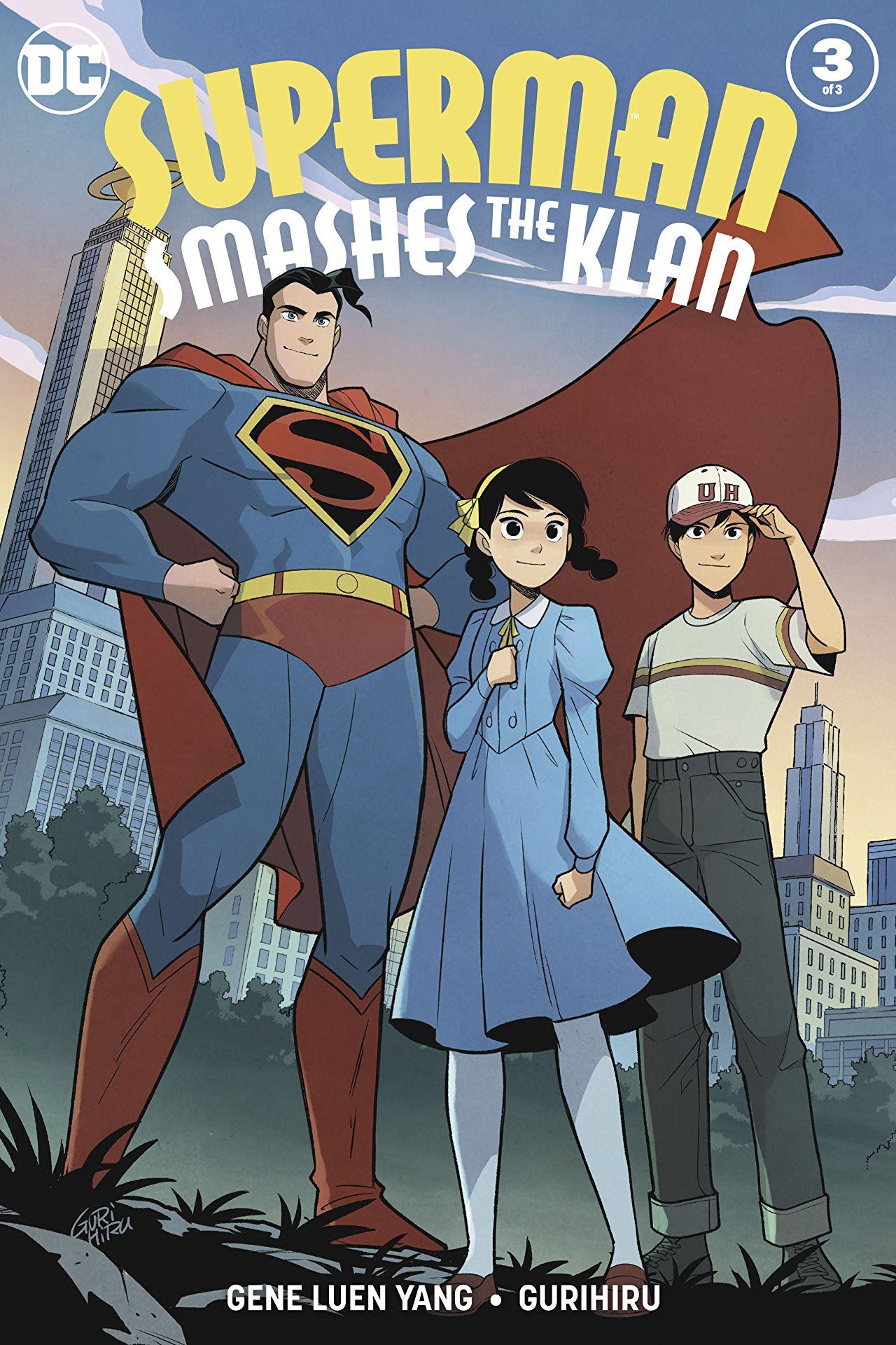 #4 Superman Smashes the Klan