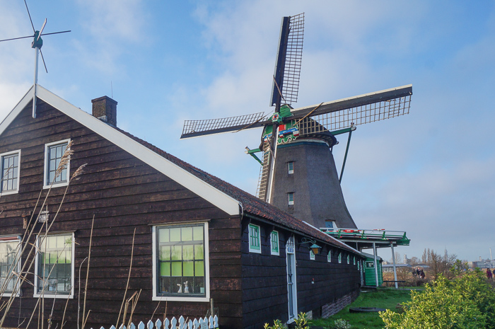 Mills at the Zaanse Schans