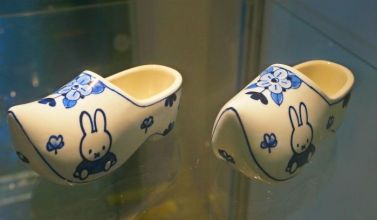 Miffy loves wooden shoes