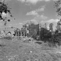 Castle Doornenburg Destroyed in Second World War