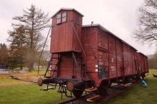 Freight train to Auschwitz