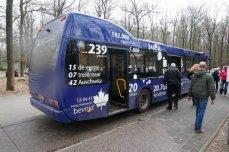 Bus op kamp Westerbork