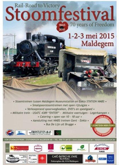 Poster Railroad festival