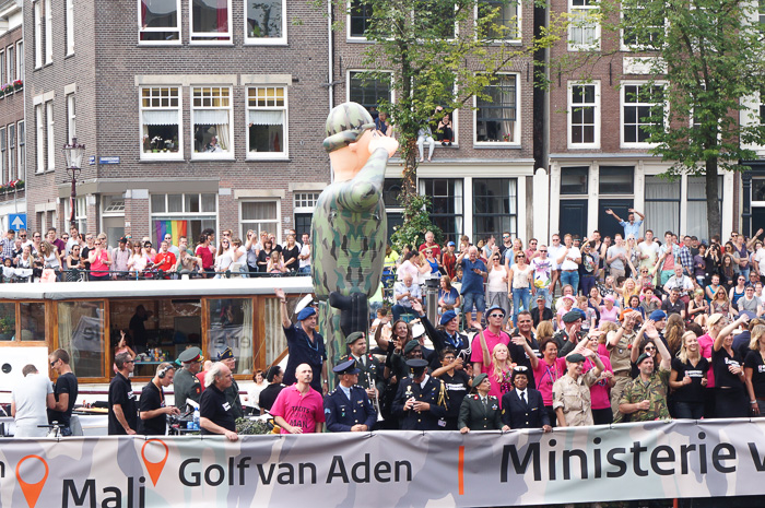 Gay Pride Canal Parade Amsterdam Ministry of Defence
