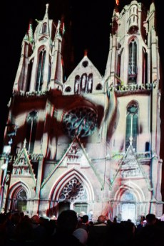 Glow Light festival Eindhoven Cathedral