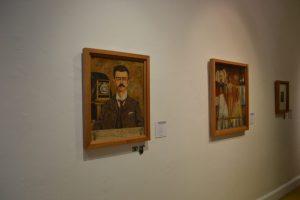 Pinturas en la Casa Museo Frida Kalho