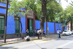 Fachada Casa de Frida Kalhlo