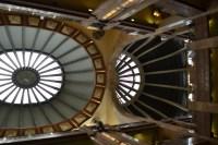 Interiores domos del Palacio de Hierro