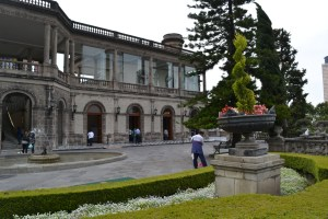 Entrance to the Chapultepec Castle