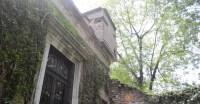 Ventana del estudio Casa de Leon Trotsky