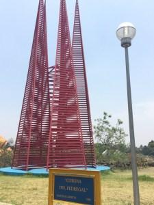 """""""La Corona del Pedregal"""" del artista Mathias Goeritz líder creador del Espacio Escultórico UNAM"""