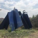 """""""Colotl"""" del artista Sebastián uno de los creadores del Espacio Escultórico UNAM"""