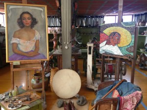Museums, the Diego Rivera Studio, Mexico City