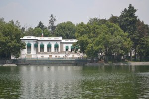 The Lake's House at Chapultepec Park