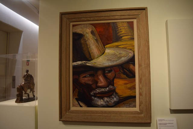 David Alfaro Siqueiros (1896-1974). Father of the First Victim of the Cananea Strike, 1961.