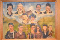 El árbol genealogico de la familia Kahlo