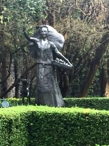 Dolores Olmedo Museum Garden