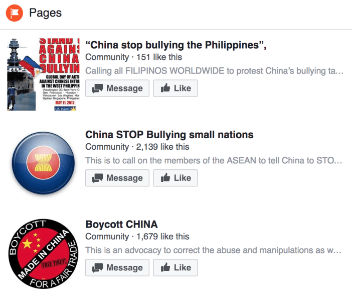 china bullying