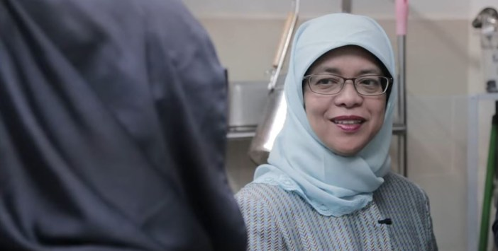 halimah yacob - community committee