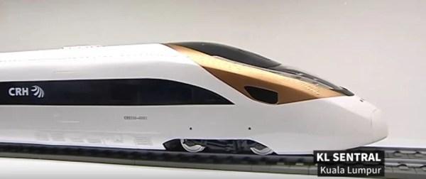 china kl-singapore high-speed rail