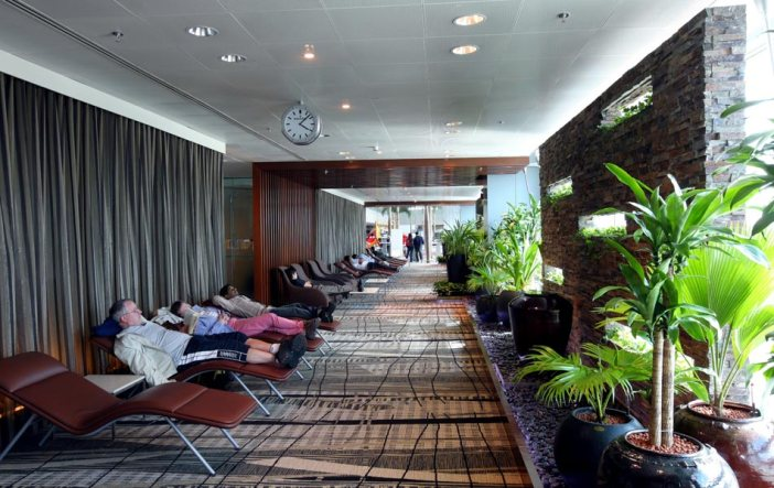rest areas changi airport