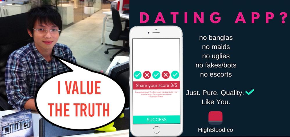 Singapore dating app racist
